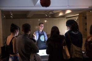 Roberto at the Science Museum Principia event
