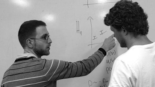 Teaching an advanced statistics course in Stellenbosch, South Africa.