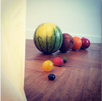 Building the solar system with fruits and veg